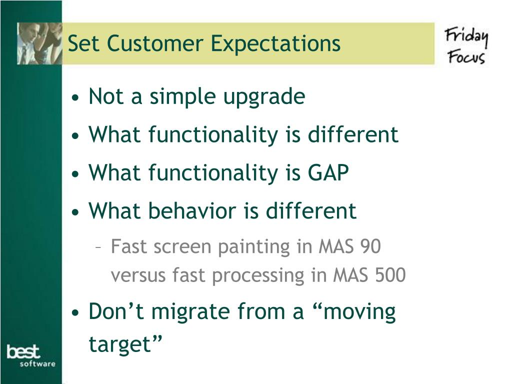 Set Customer Expectations