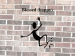 blessed happy