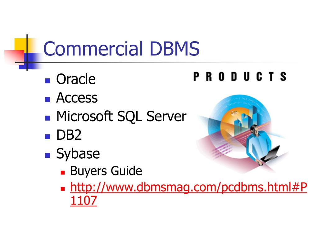 Commercial DBMS