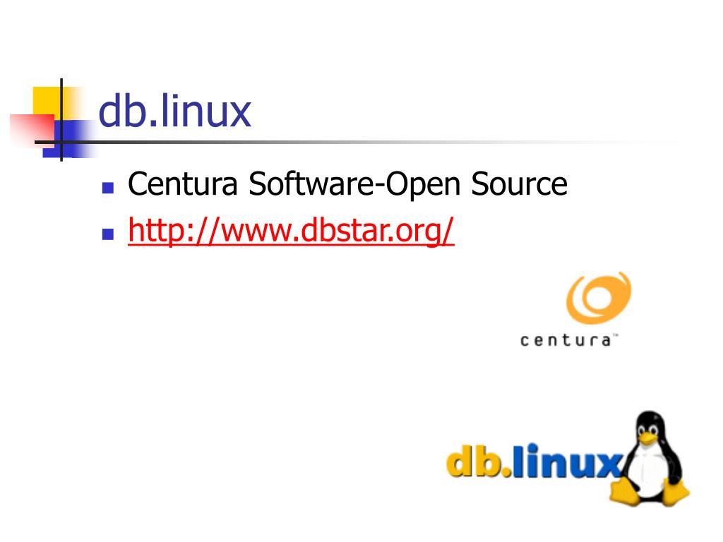 db.linux