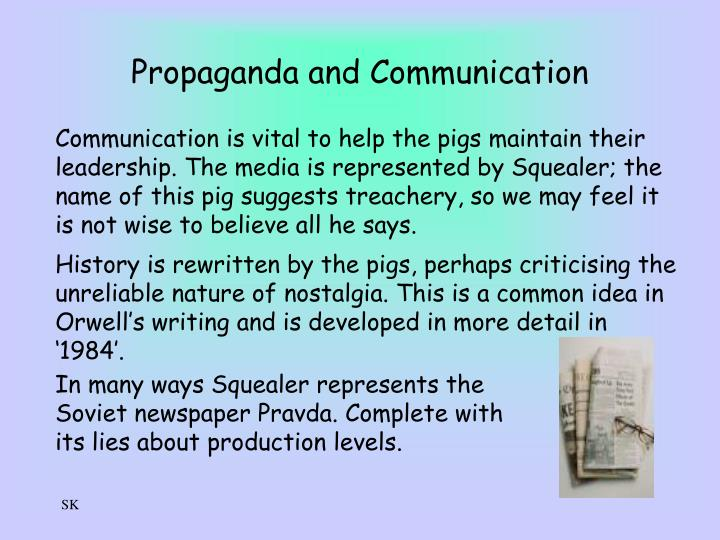Propaganda and Communication