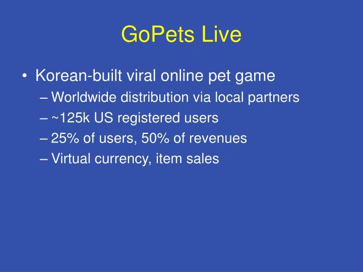 GoPets Live