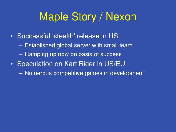 Maple Story / Nexon