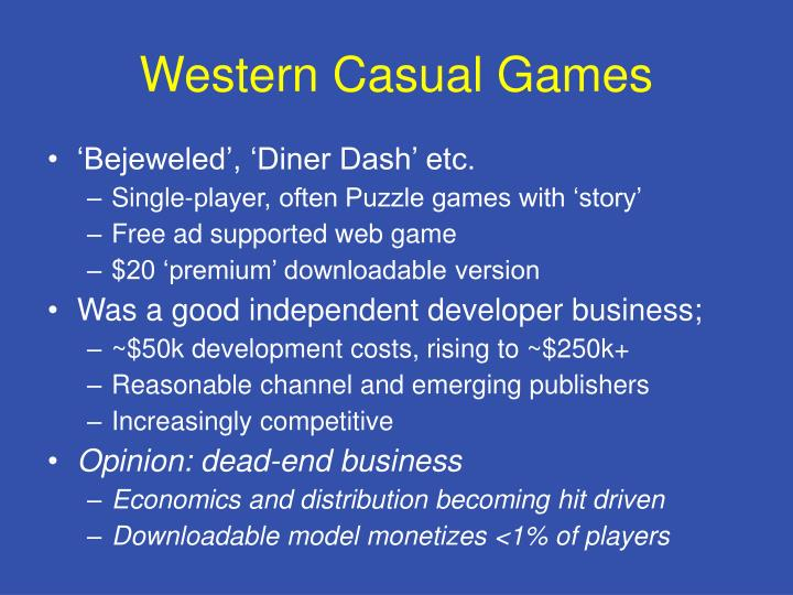 Western Casual Games