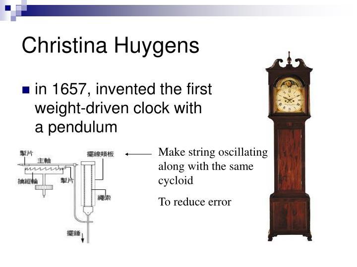 Christina Huygens