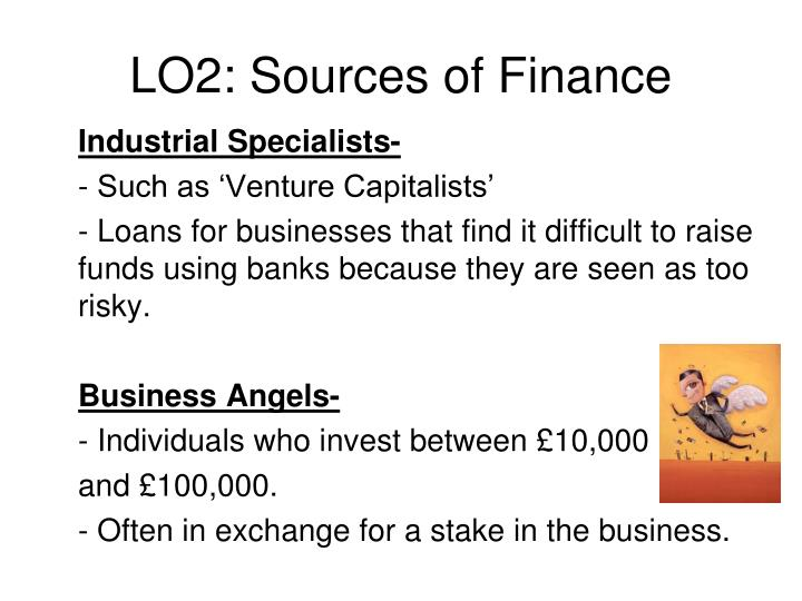 LO2: Sources of Finance