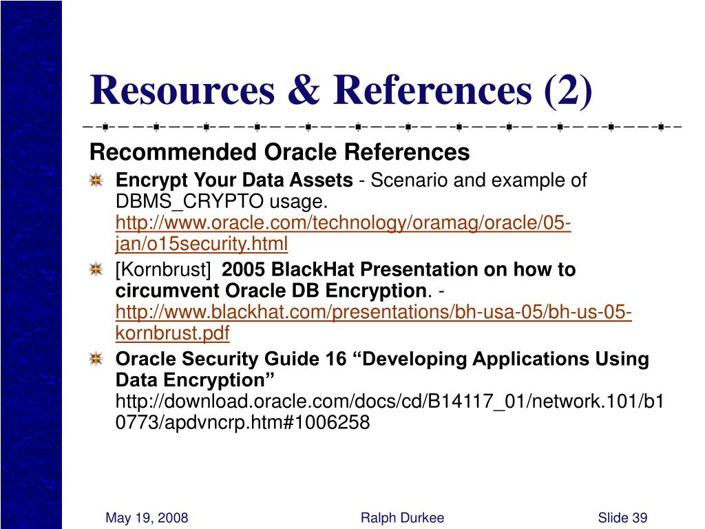 Resources & References (2)