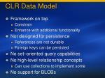 clr data model