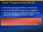 easy programming model