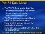 winfs data model100