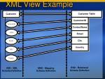 xml view example