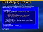 xsd mapping example