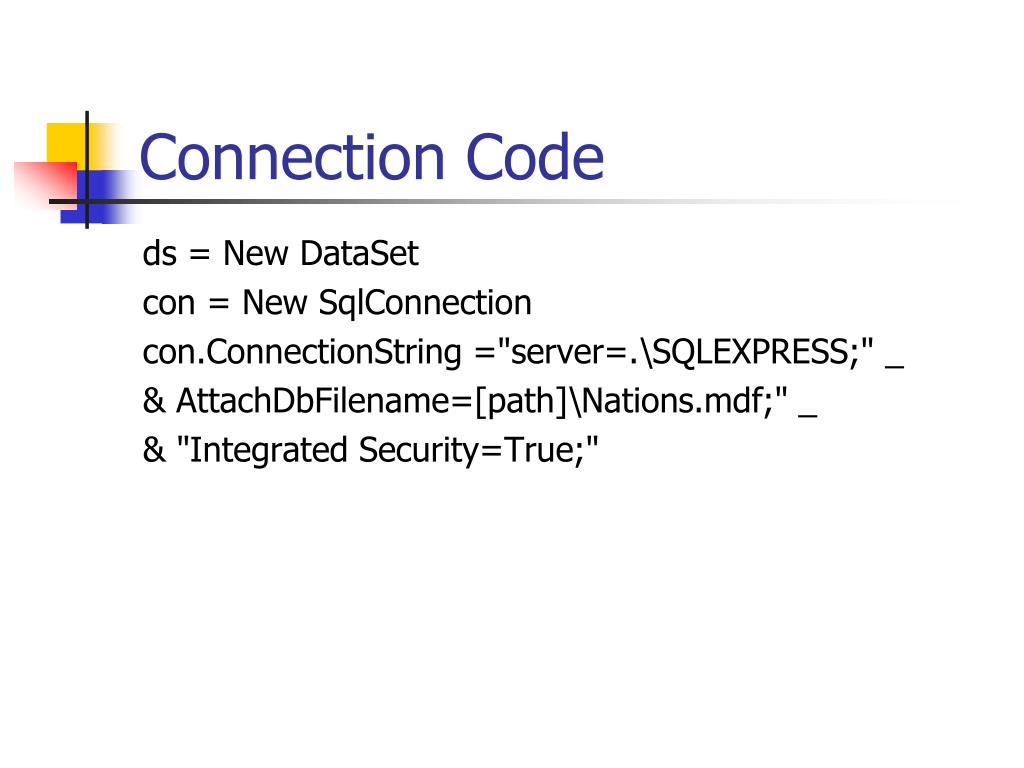 Connection Code