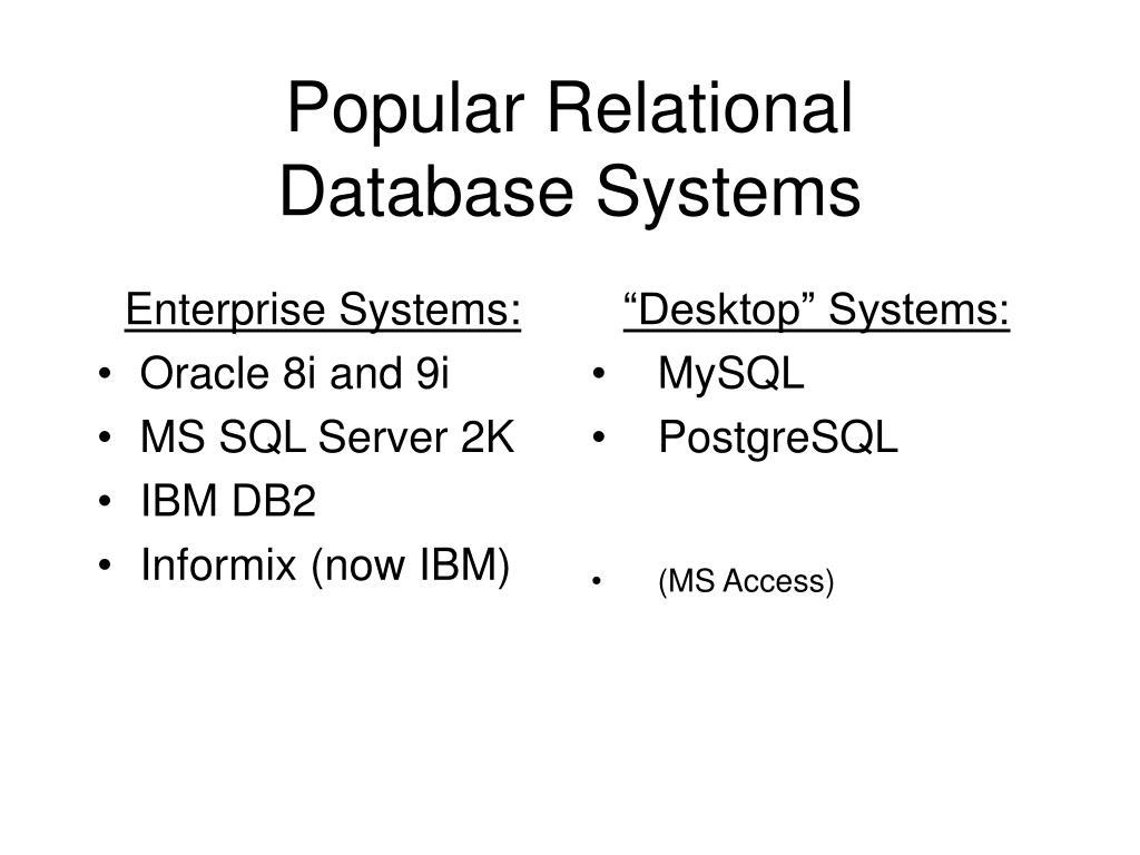 Enterprise Systems: