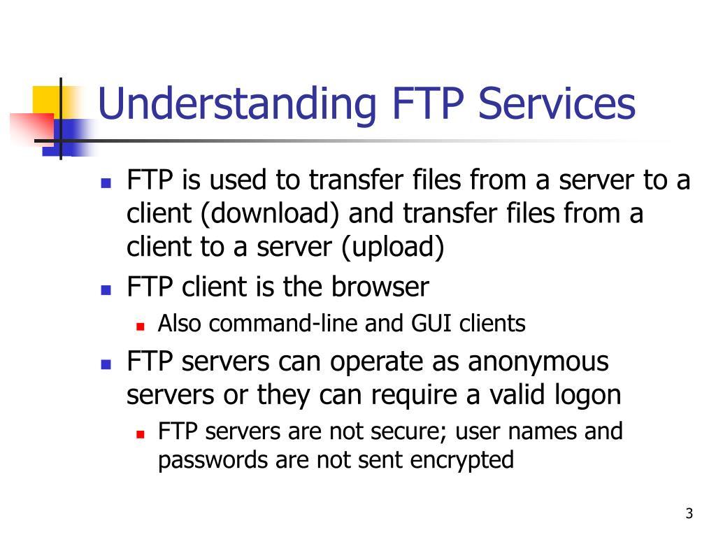 Understanding FTP Services