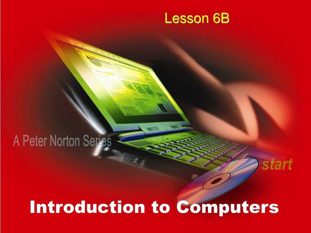 Lesson 6B