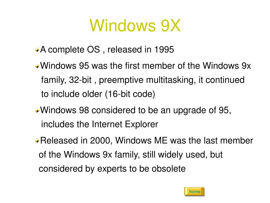 Windows 9X