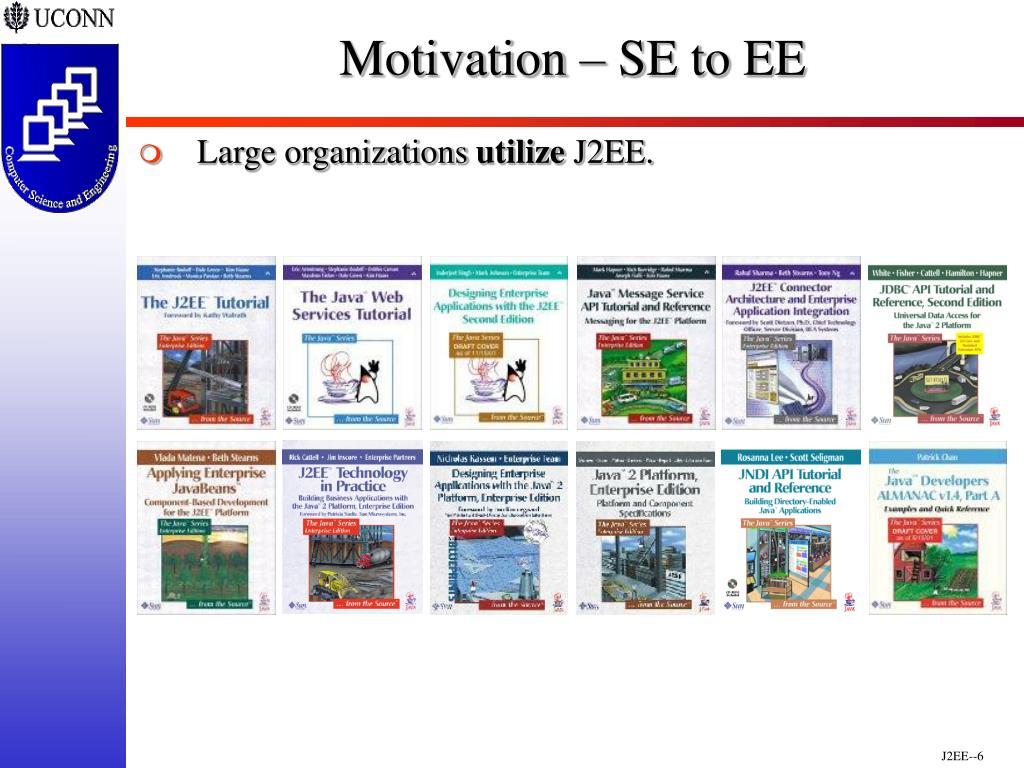 Motivation – SE to EE
