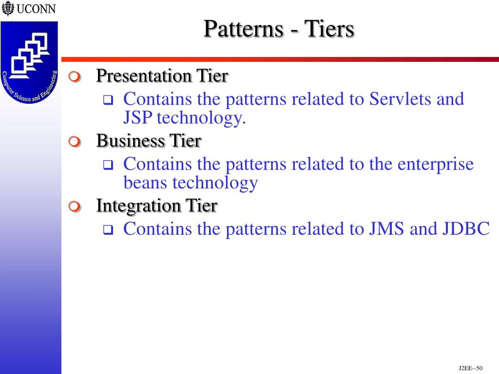Patterns - Tiers