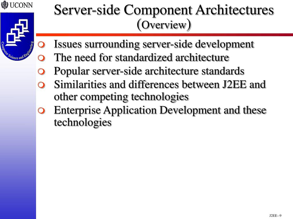 Server-side Component Architectures