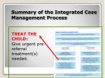 summary of the integrated case management process5