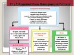 the integrated case management process