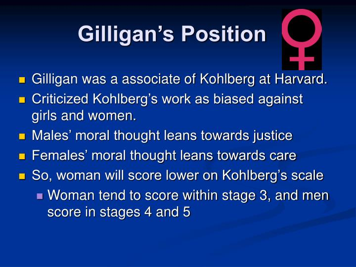 Gilligan's Position