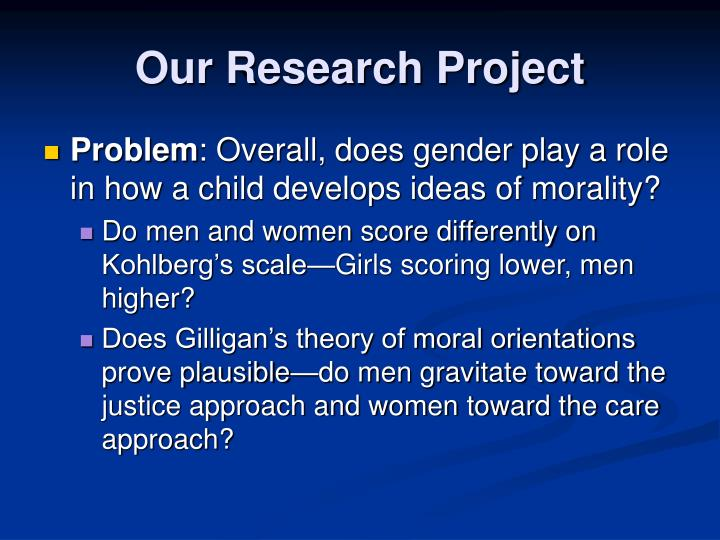 Our Research Project