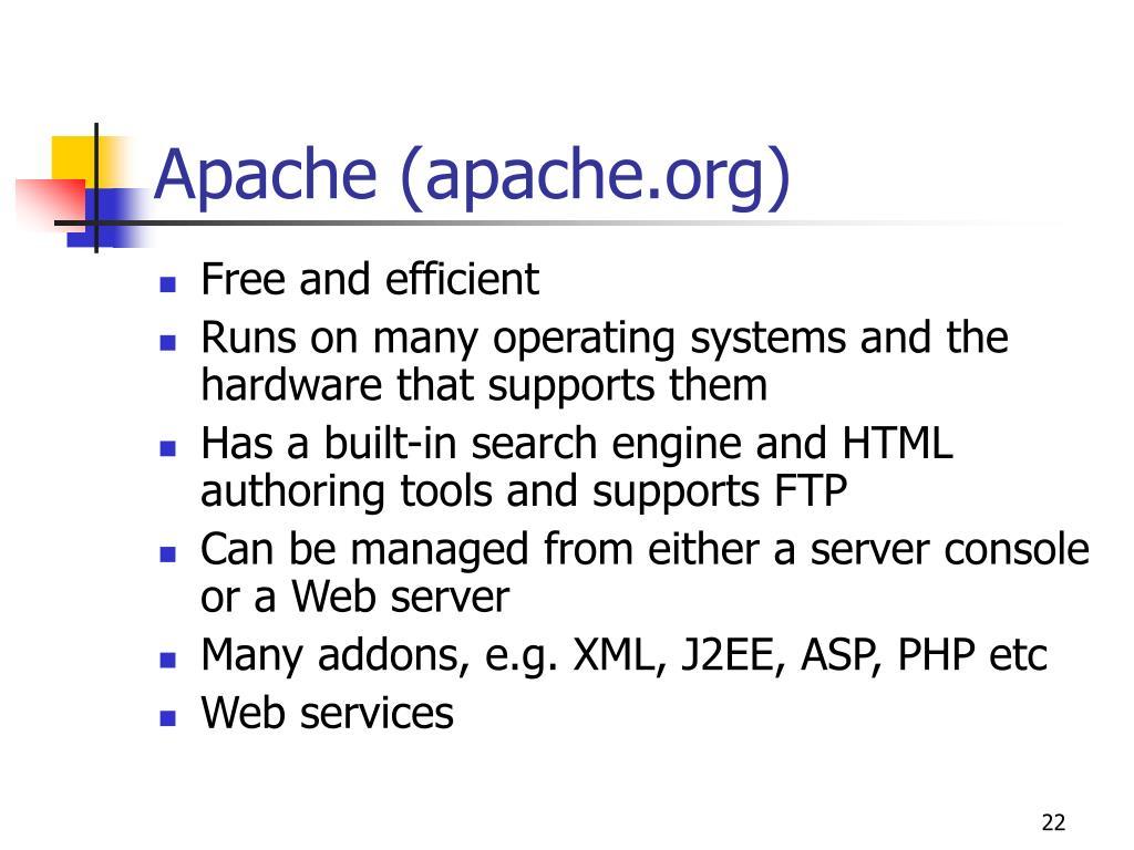 Apache (apache.org)