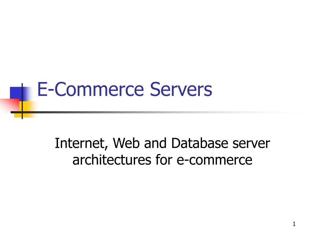 E-Commerce Servers