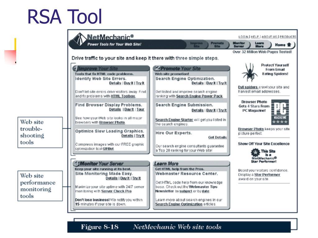 RSA Tool