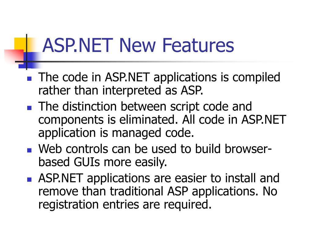 ASP.NET New Features