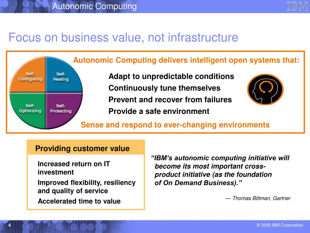 Focus on business value, not infrastructure