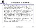 the marketing of jimi hendrix