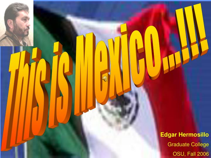 This is Mexico...!!!