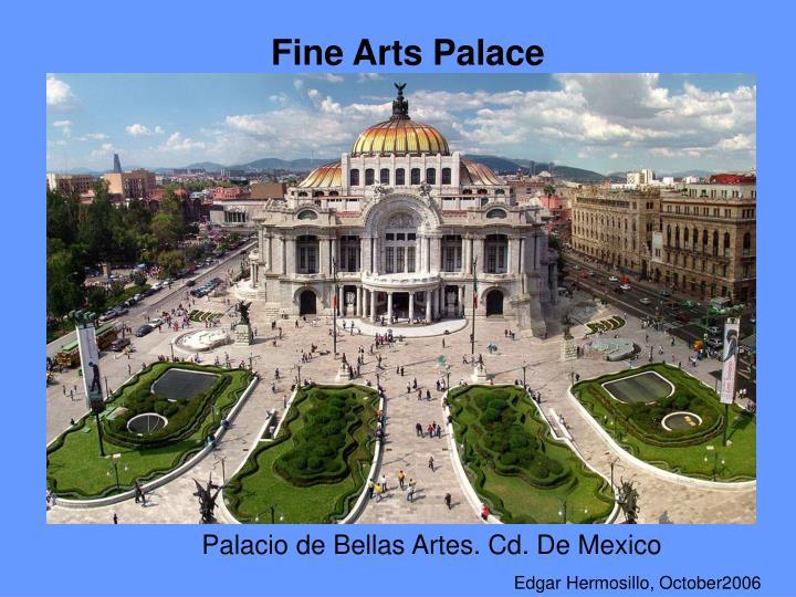 Fine Arts Palace