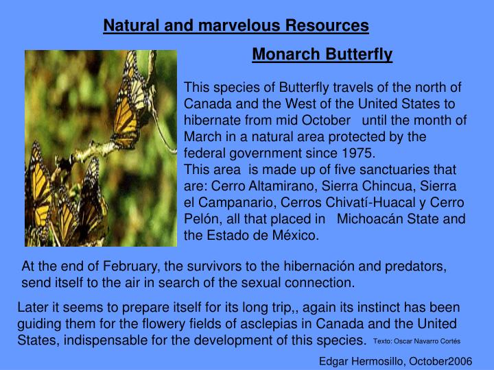 Natural and marvelous Resources