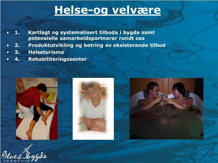 Helse-og velvære