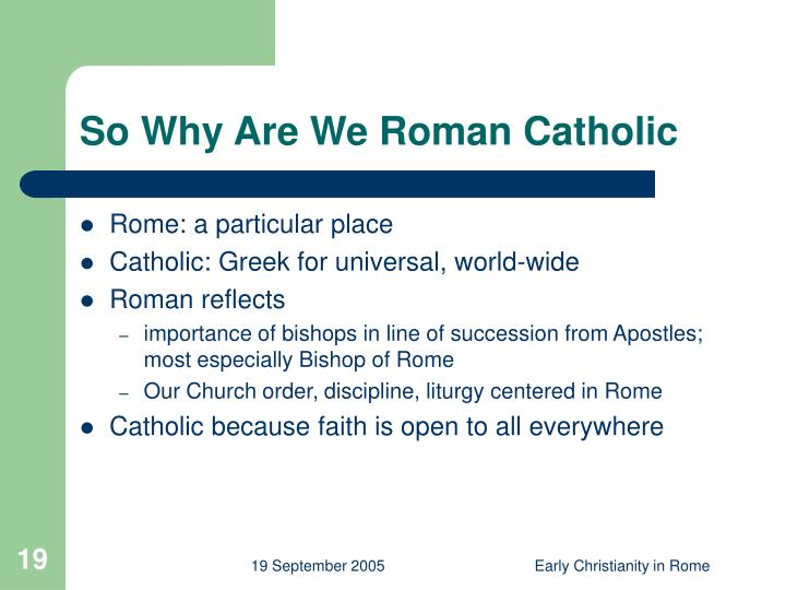 why we are all roman Lesson 100: accepting those who are different  why do you bring him to me  it's not just so that we all get along,.
