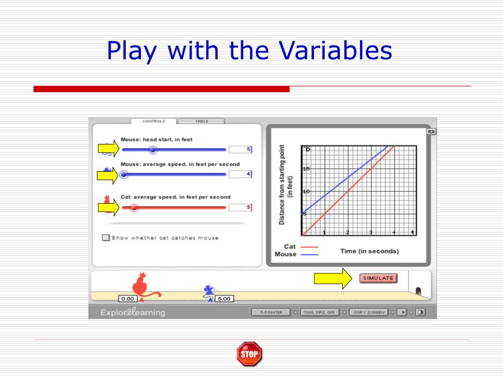 Play with the Variables