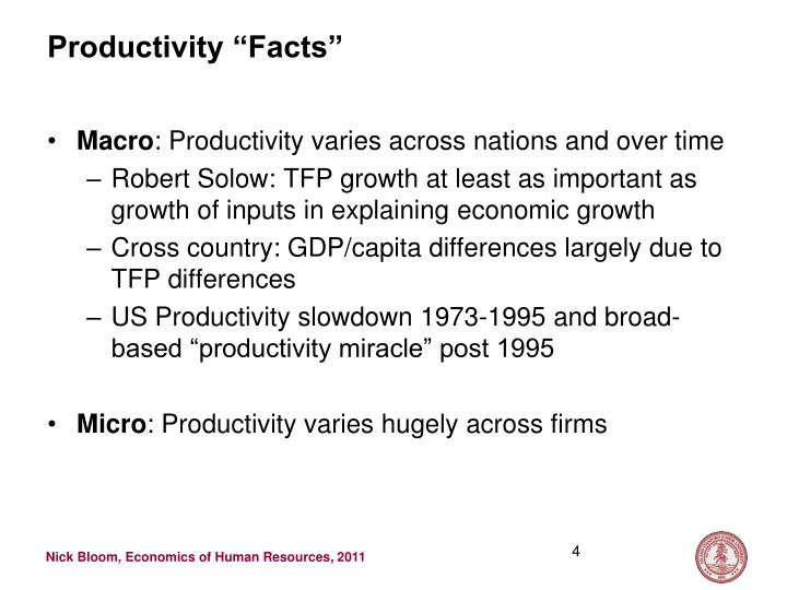 "Productivity ""Facts"""