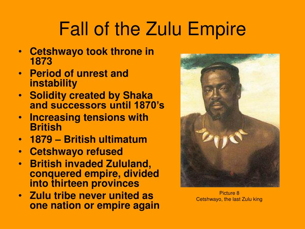 Fall of the Zulu Empire