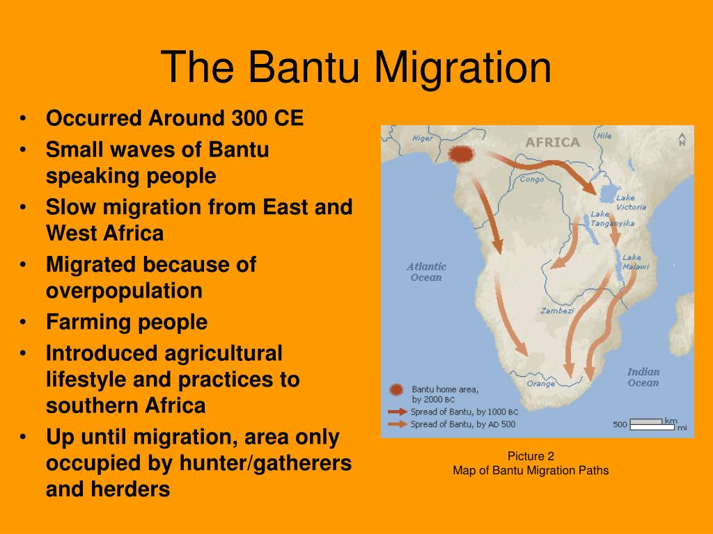 The Bantu Migration