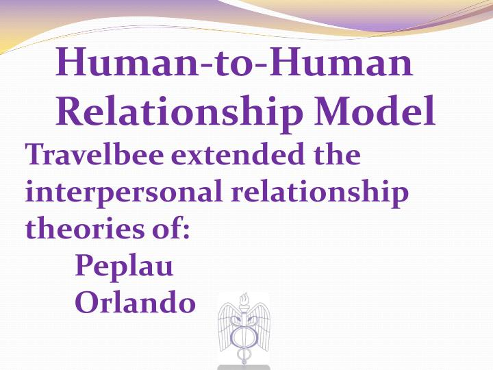 joyce travelbee Joyce travelbee's human to human relationship model focuses on mental health.