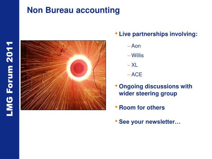 Non Bureau accounting