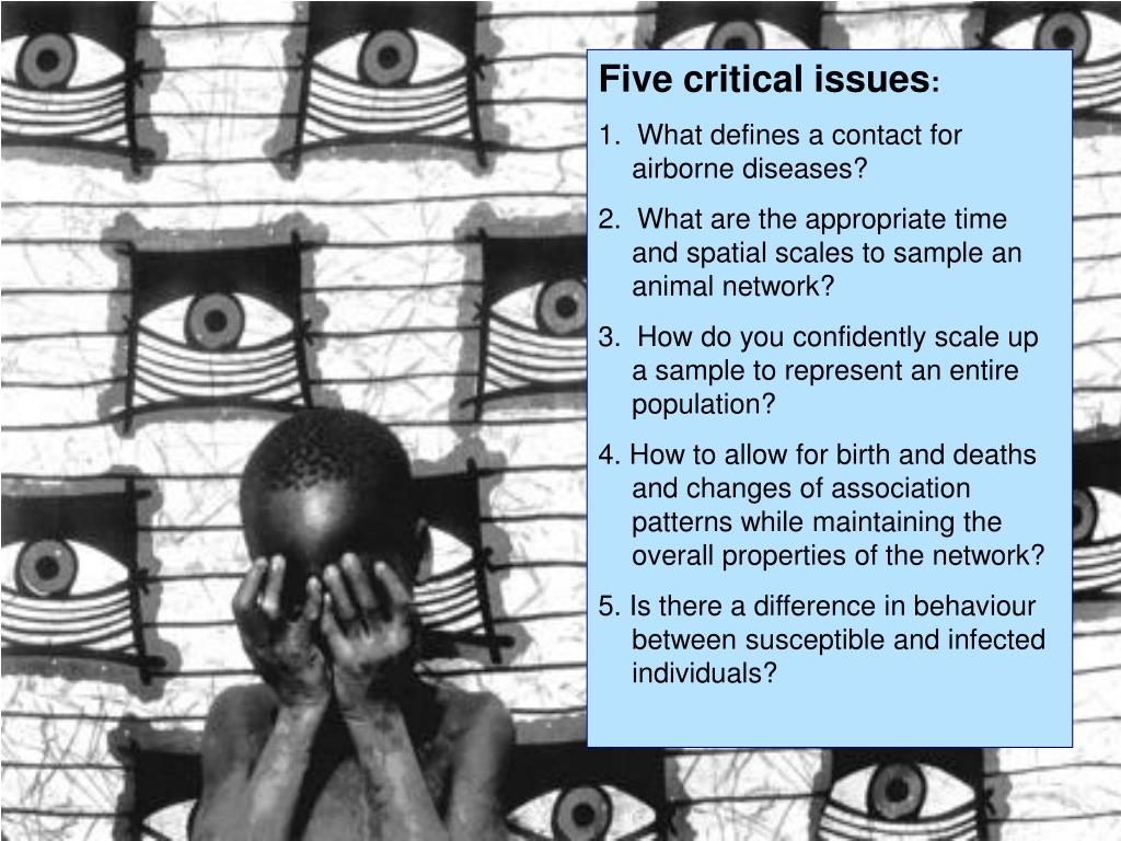 Five critical issues