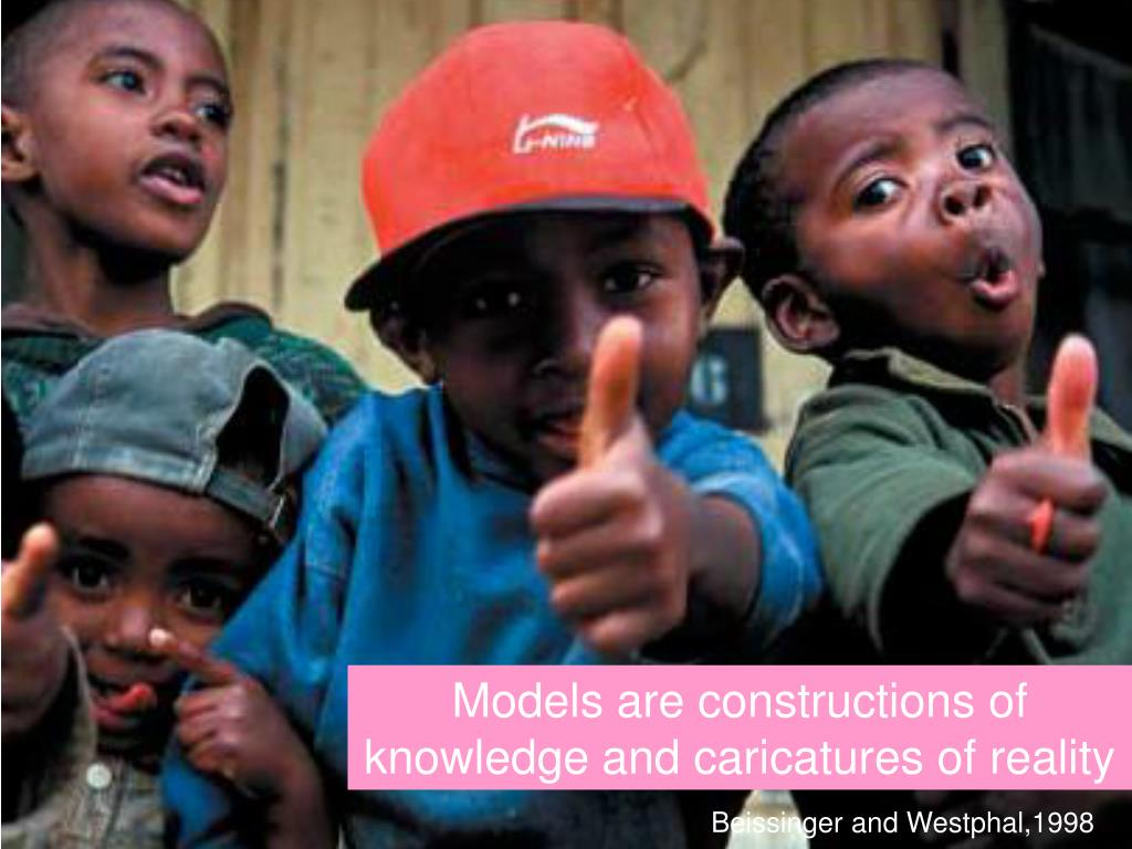 Models are constructions of knowledge and caricatures of reality