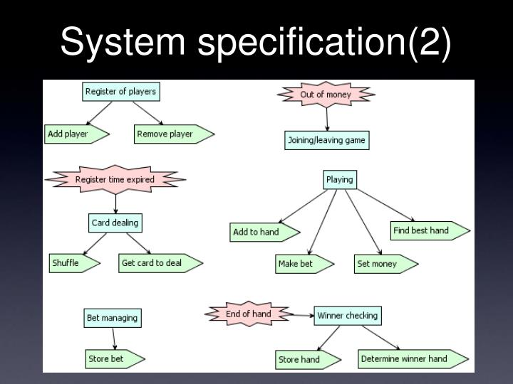 System specification(2)