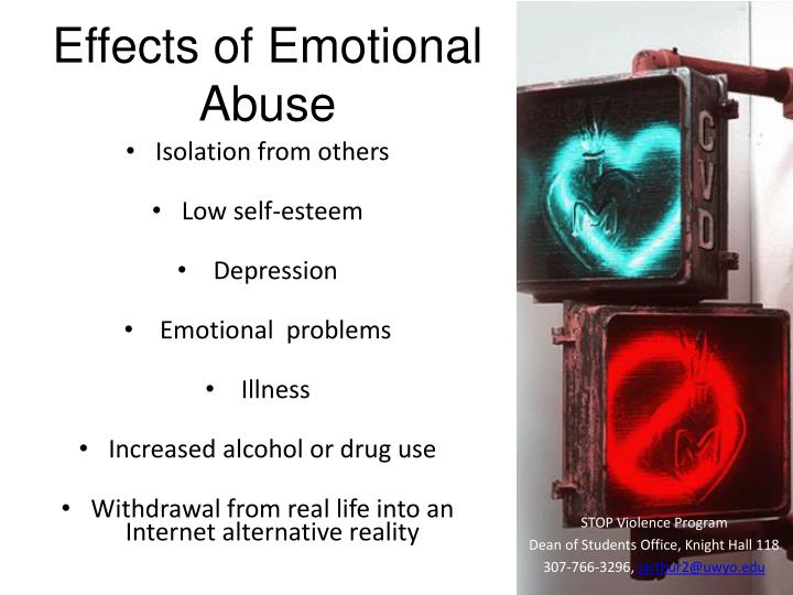 Effects of Emotional Abuse
