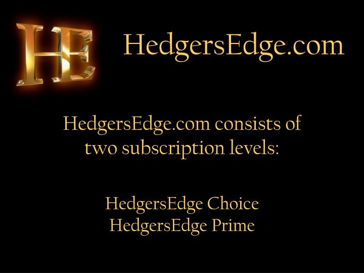 HedgersEdge.com